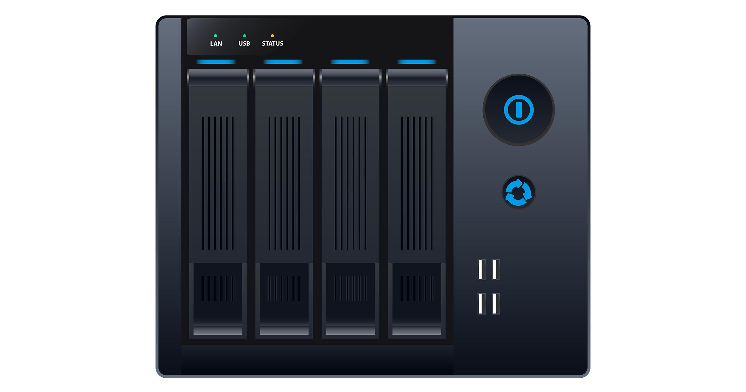 NAS -- Network Attached Storage