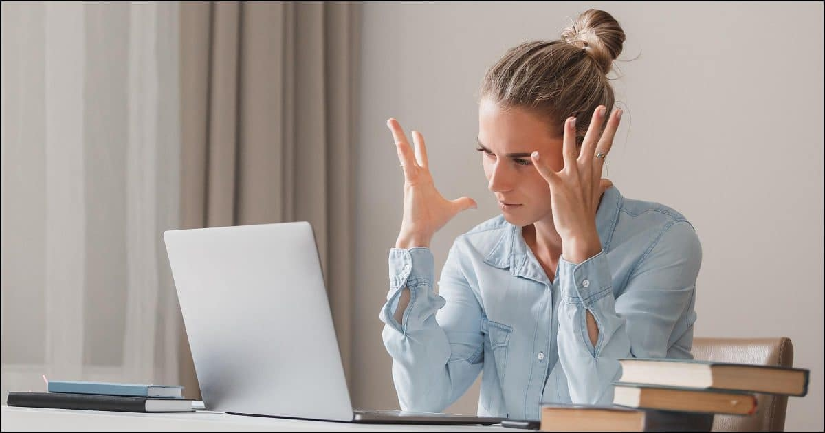 Frustrated with computer