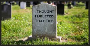 How Were Files Recovered that I Thought Were Deleted?