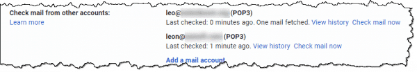 """Gmail """"Check mail from other accounts"""""""