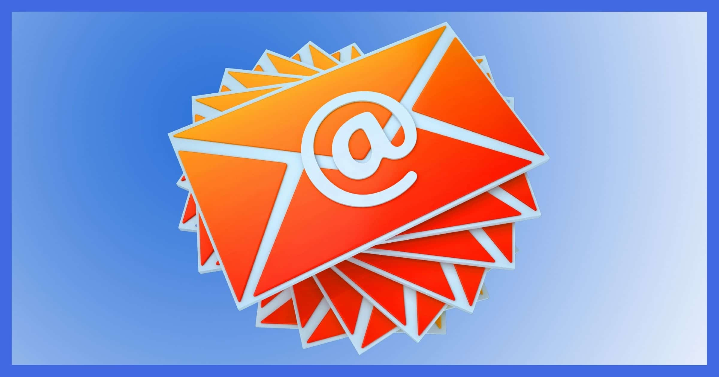 """A """"pile"""" of email."""