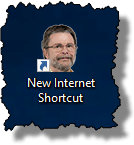 New Internet Shortcut