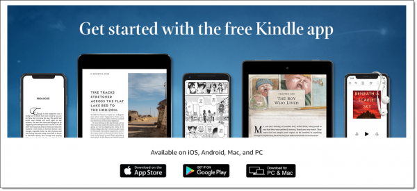 Available Kindle Apps
