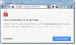 Certificate Error in Chrome