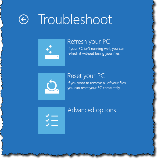 how to reboot my hp laptop windows 8