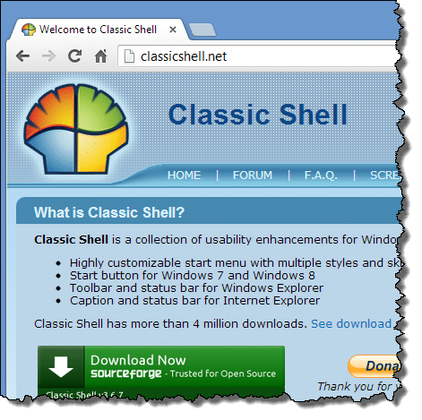 Classic Shell Official Website