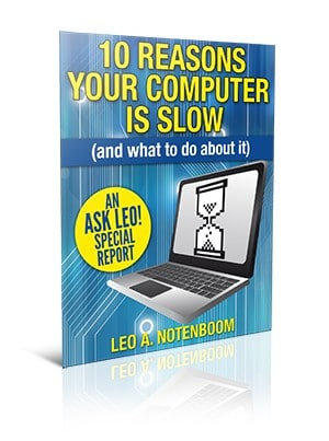 10 Reasons Your Computer is Slow