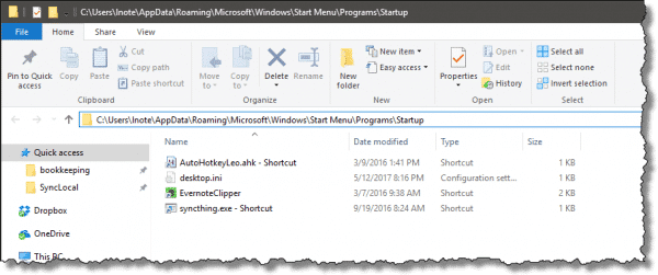 how to automatically open programs on startup windows 8