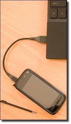 Tethered Smartphone