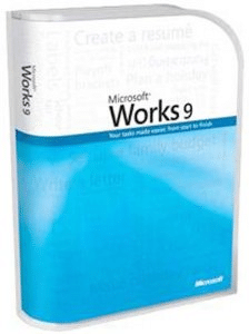 The last edition of Microsoft Works