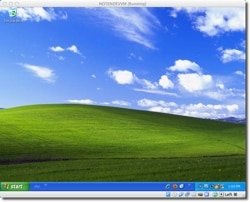 Windows XP in a Virtual Machine