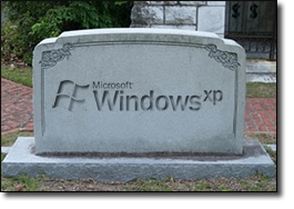 XP's Tombstone