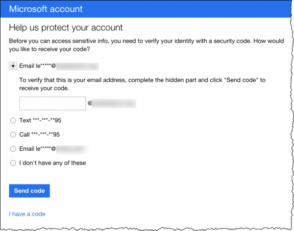 Protect Your Microsoft Account