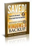 Saved! Backing Up with Windows 8 Backup