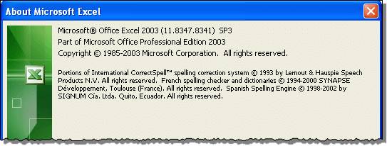 microsoft excel 2003 free download for windows 8.1