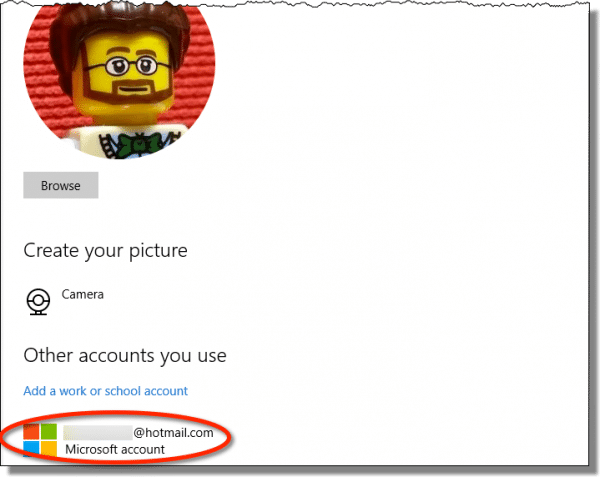 Your Microsoft Account Still Listed