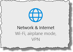 Windows 10 - Network & Internet