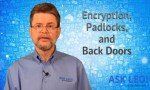 Encryption, Padlocks, and Back Doors