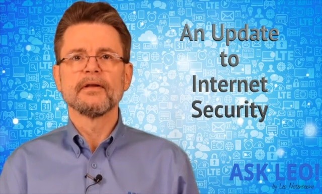 An Update to My Internet Security Book