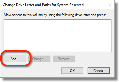 Change Drive Letter and Paths...