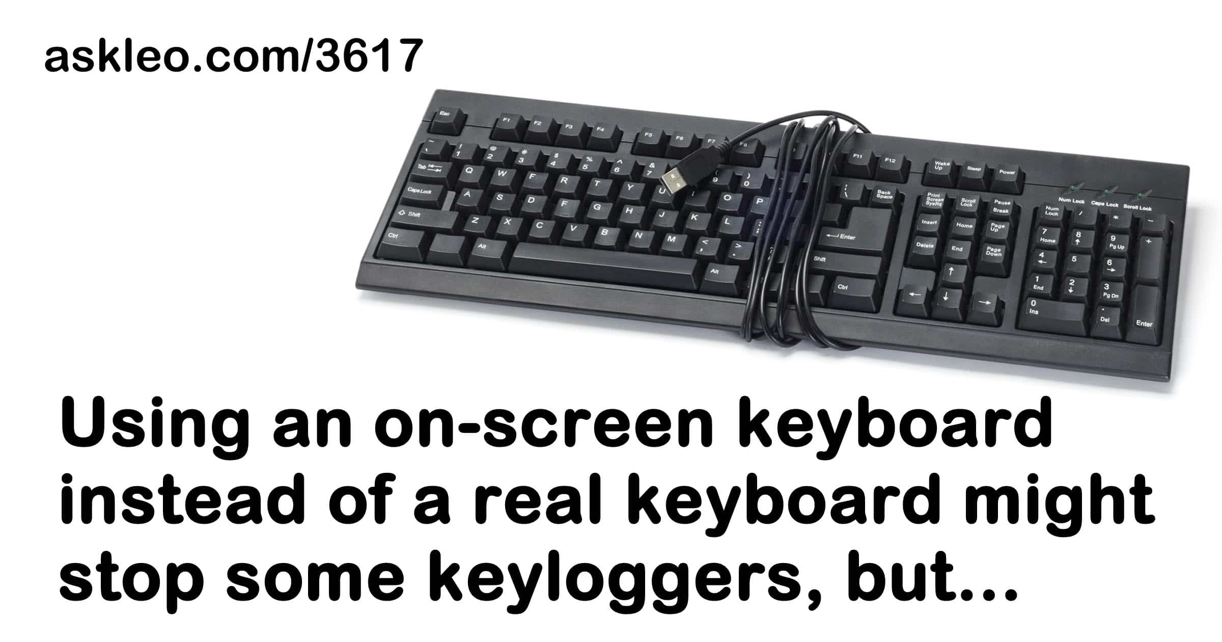 Will using an on screen keyboard stop keyboard loggers and hackers?