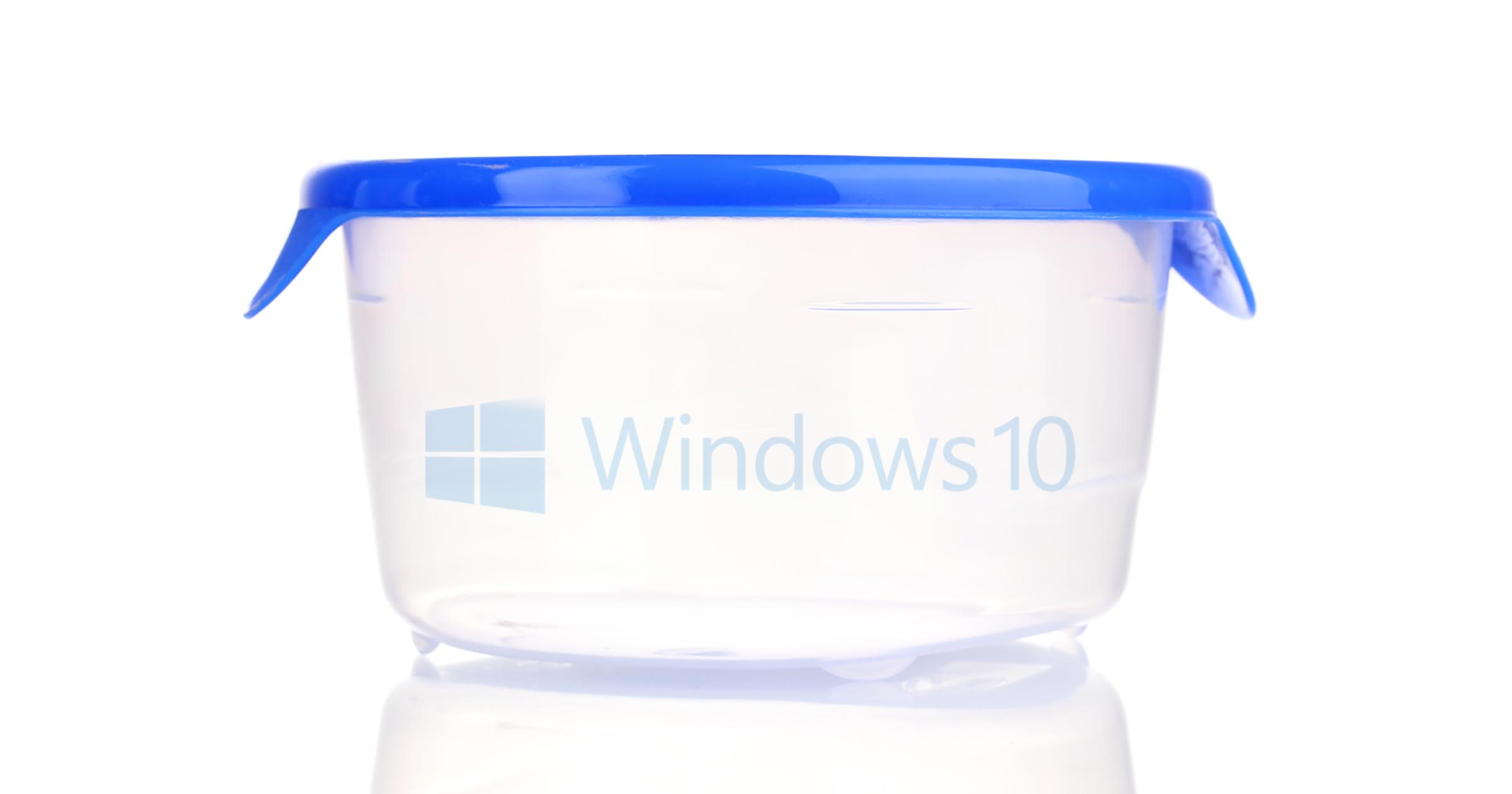 Windows 10 in a Container