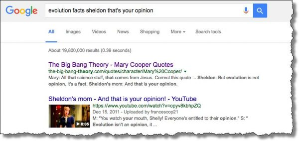 A Vague Search With Results