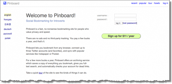 Pinboard.in