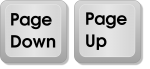 Page Down and Page Up