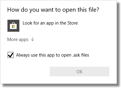 How do you want to open this file?