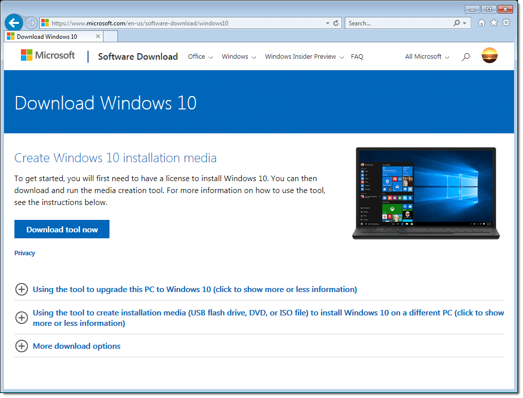 microsoft software free download for windows 10