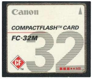 32MB Compact Flash card