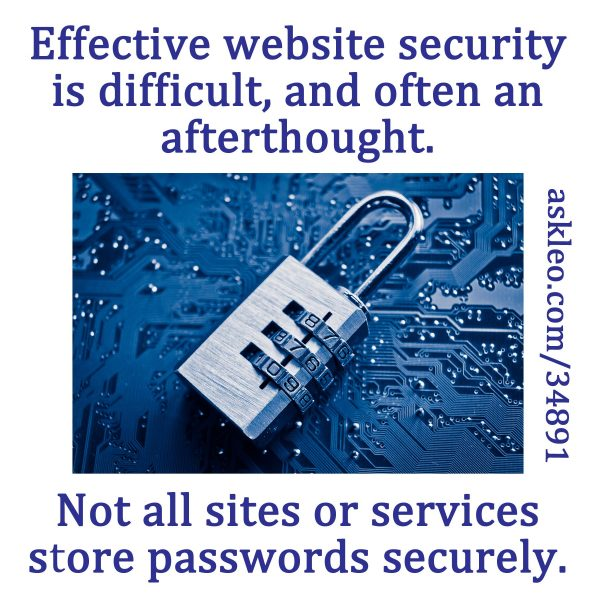 Effective website security is difficult, and often an afterthought.
