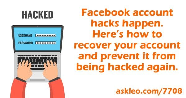 Facebook Hacked? What You Need to Do NOW!