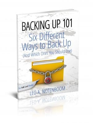 Backing Up 101 – Six Different Ways to Back Up Your Computer
