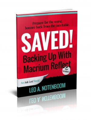Saved! Backing Up With Macrium Reflect - Second Edition