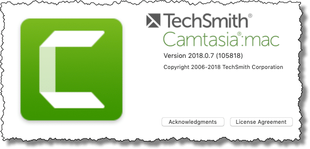 About Camtasia