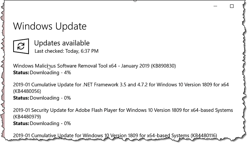 The Journey to My New Computer: Update, Update, Update - Ask