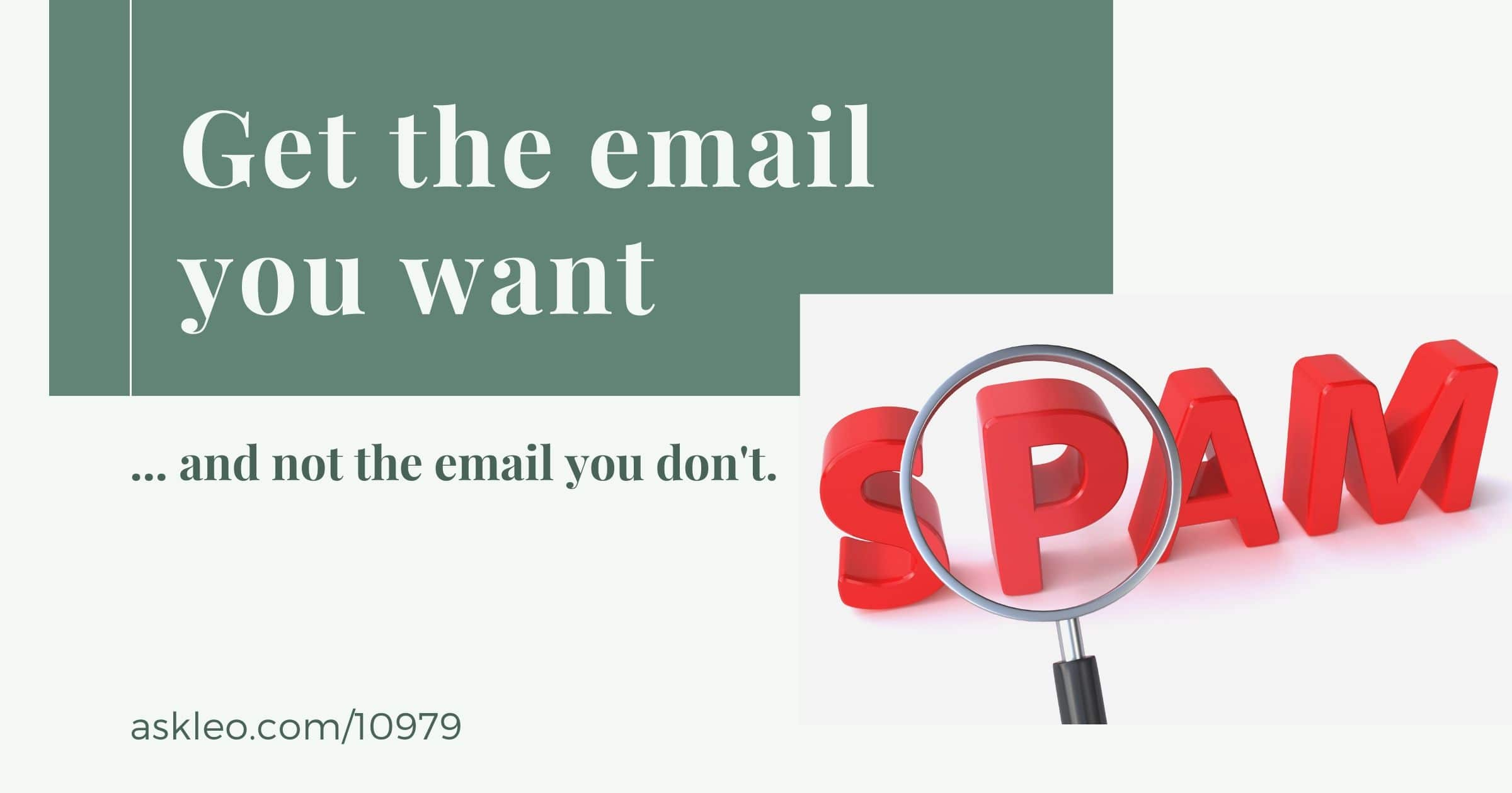 Why Am I Not Getting the Email Newsletter I Signed Up For? Three Steps to Improve the Situation