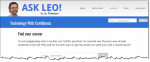 The Ask Leo! home page