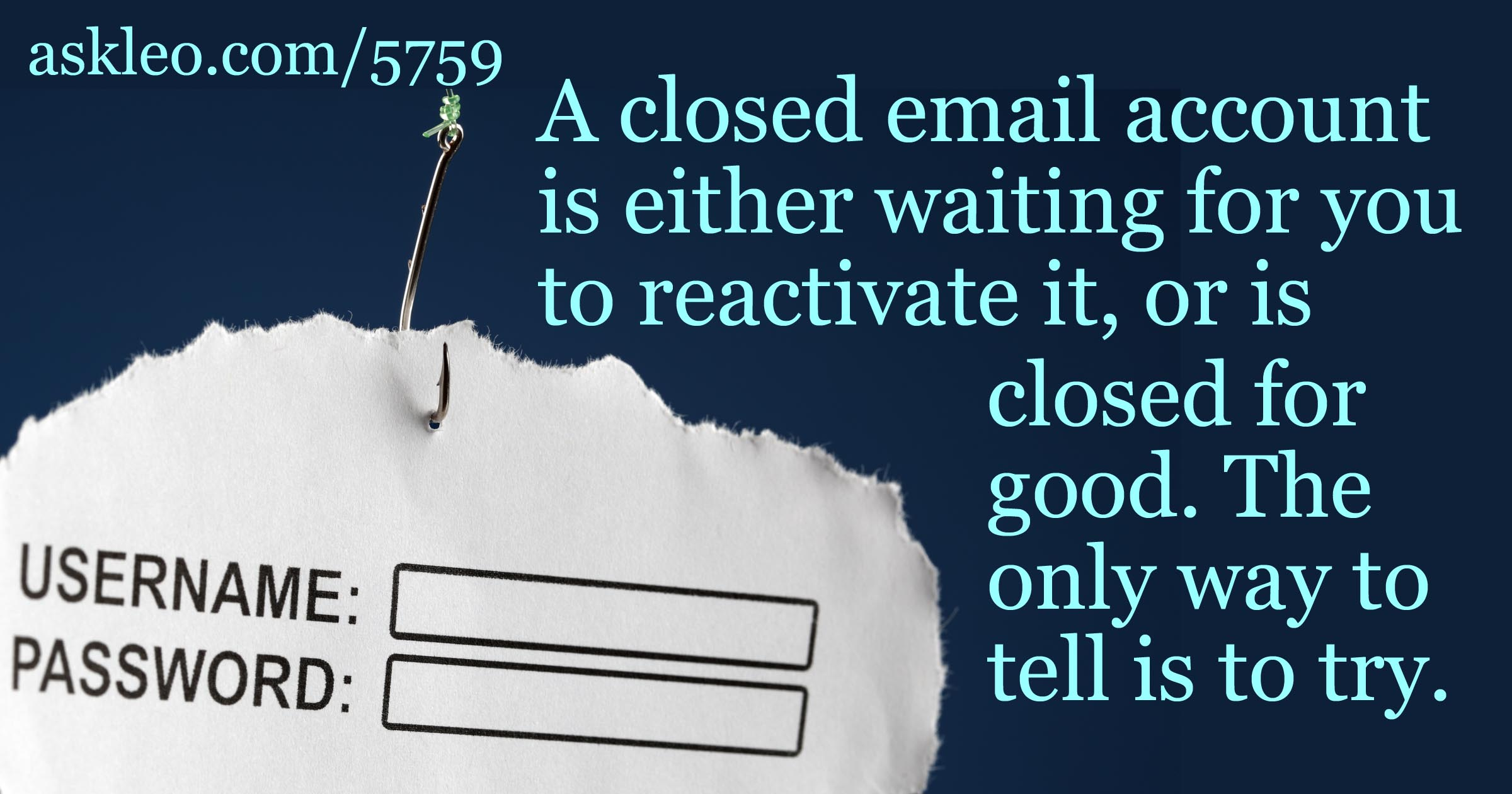 How Do I Reactivate an Old Email Account?