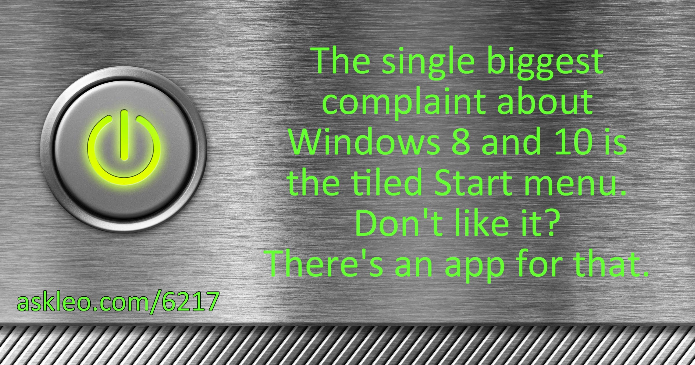 Open-Shell: Regain Your Start Menu in Windows and Much More