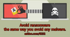 How to Avoid Ransomware -- the 3 Things You