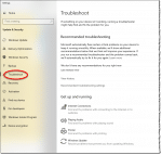 Troubleshoot in Windows 10's Settings app