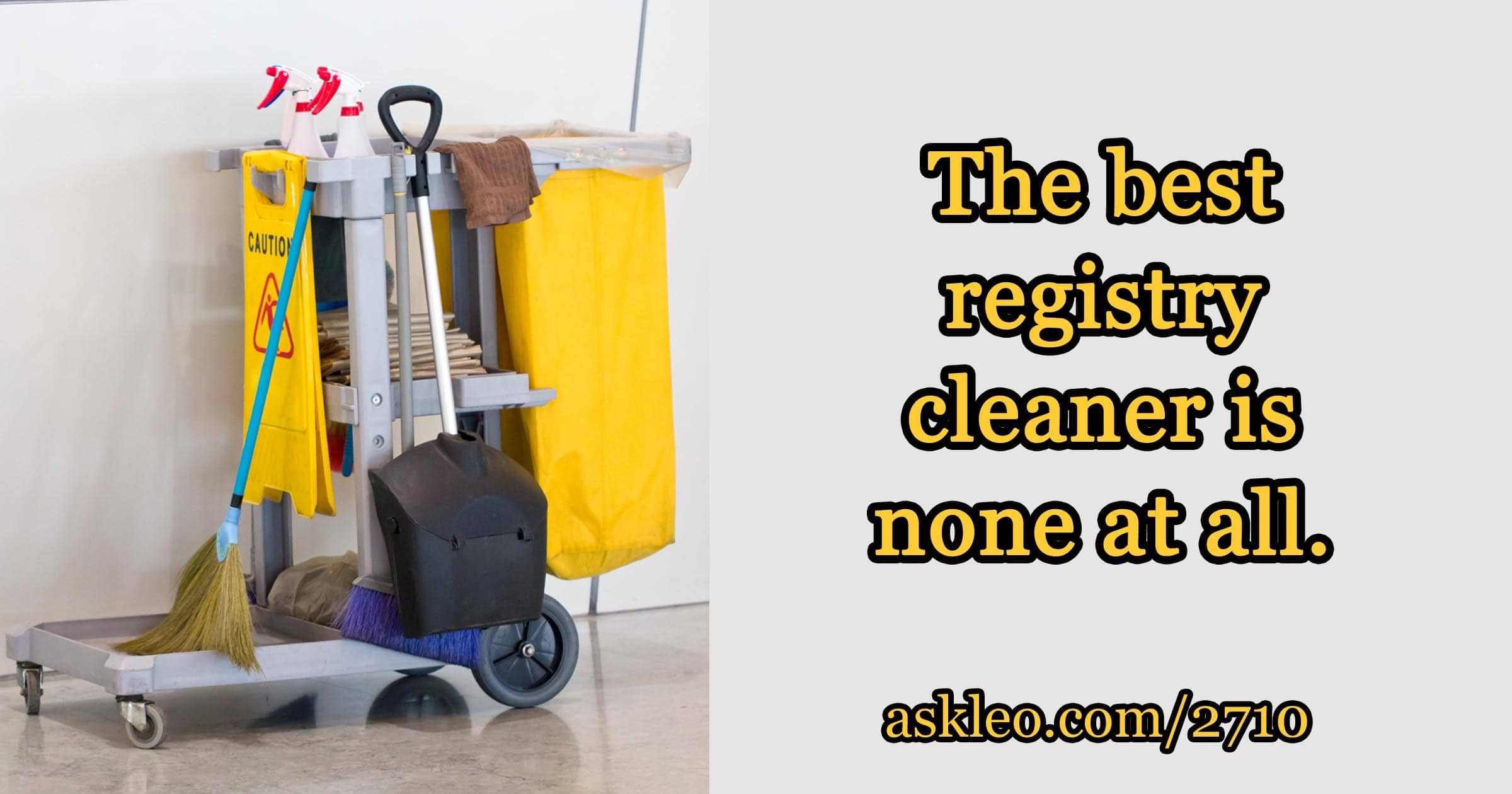 What's the best registry cleaner?