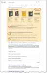 """Search Results for """"Backup Software"""", highlighting ads"""