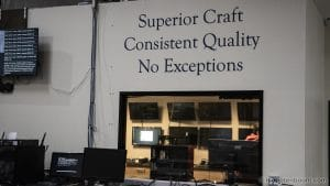 Superior Craft; Consistent Quality; No Exceptions
