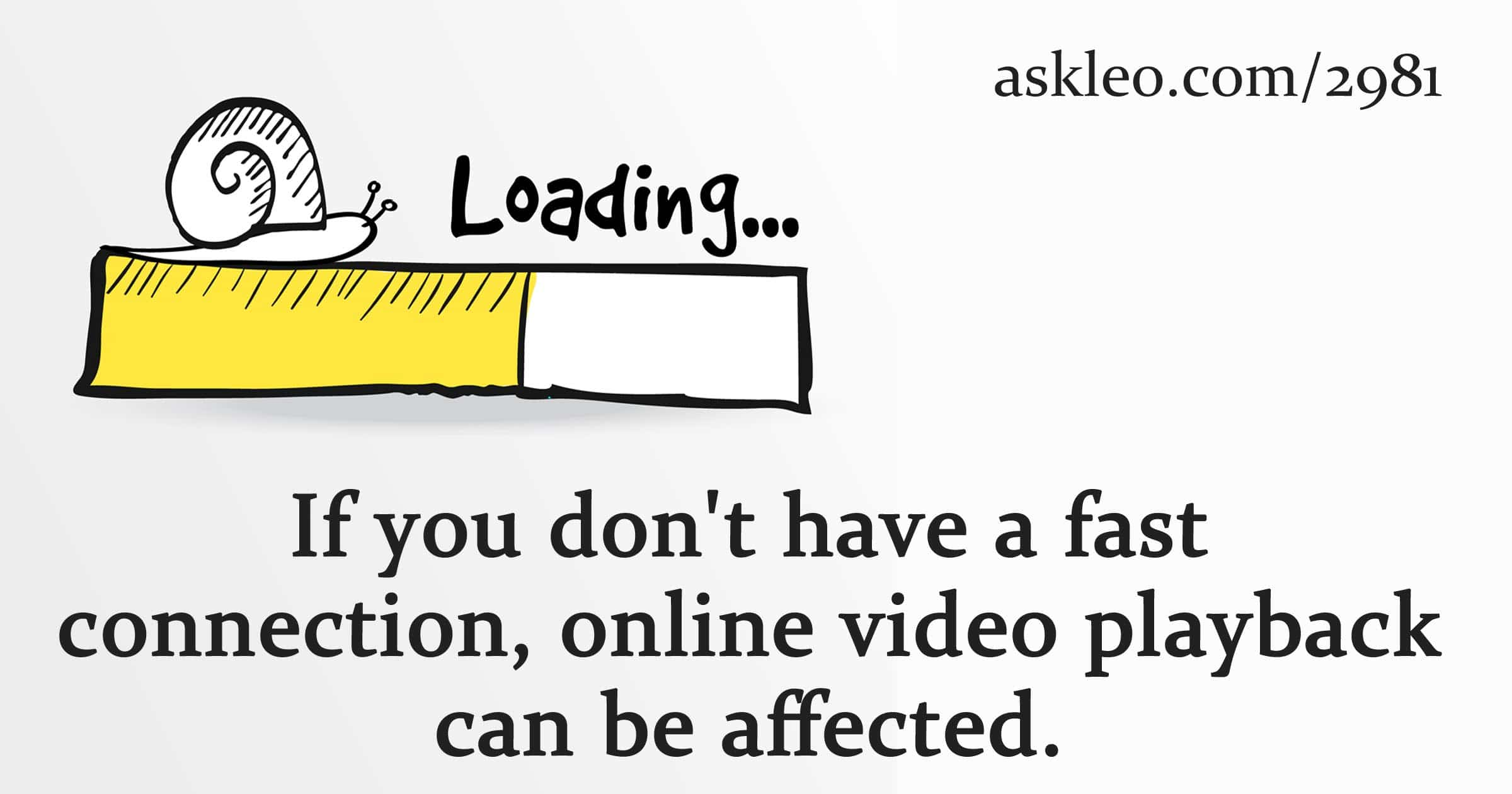 Dealing With Video Starts and Stops While Watching: Two Common Causes and Three Possible Solutions