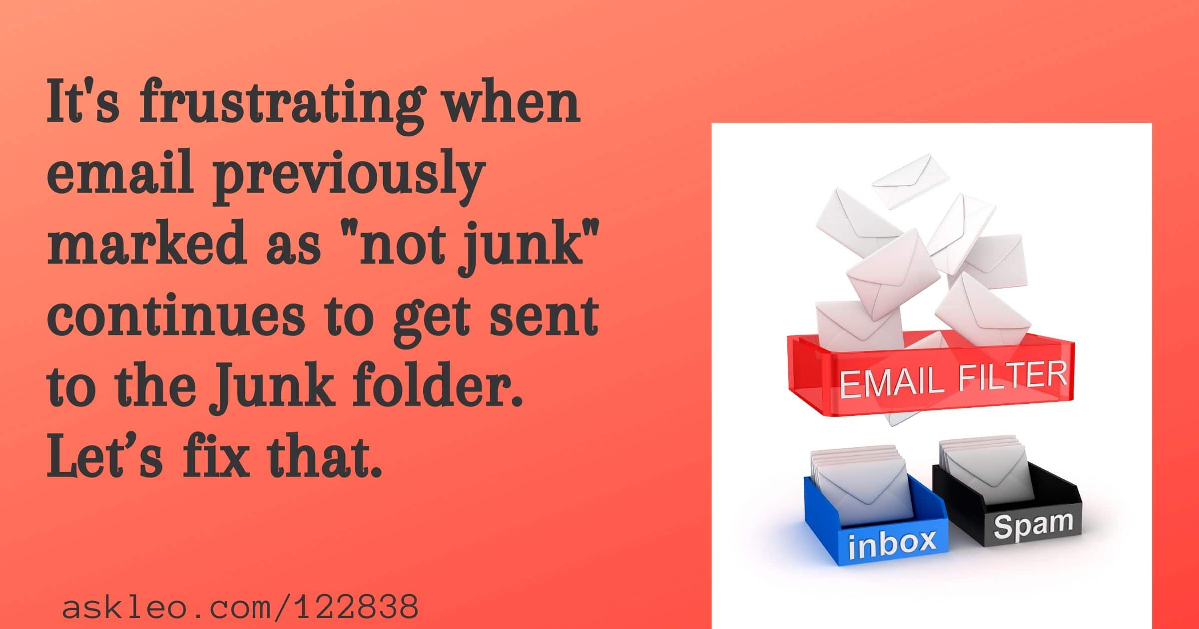 How Do I Stop Email from Going to Junk in Outlook.com?