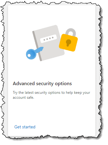 Advanced Security Options